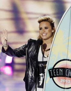 Demi Lovato in the TCA's