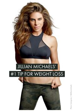 Simple weight loss advice from fitness guru, Jillian Michaels! Womanista.com