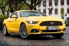2015 Ford Mustang EU-Version  http://bravenewcarz.com/2015-ford-mustang-eu-version/