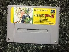 Dragon Ball Z Super Butouden Super Famicom Japan  DBZ Bandai Nintendo