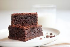 In this unusual brownie recipe from the Boston pastry chef Rick Katz, half of the recipe's eggs and sugar are mixed in with the chocolate, while the other half are beaten until they double in volume and are as light as sponge Whipping the eggs creates the surprisingly creamy, soft and definitively fudgy texture.