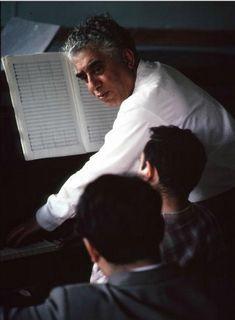 Composer Aram Khachaturian with his students in Armenia.Burt Glinn Photos 1
