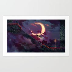 Castlevania - Symphony of the Night Art Print
