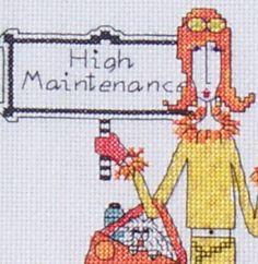 High Maintenance – Dolly Mama...  Mamá de gustos caros...