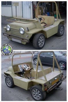 I proper Love a lil Schmitt! Such a cool and fun looking Mini, its a bit early in the year but. I'd love 1 of these for some summer fun! Mini Jeep, Mini Bike, Karting, Cool Go Karts, Gem Cars, Electric Car Conversion, Custom Golf Carts, Cool Old Cars, Wood Toys Plans