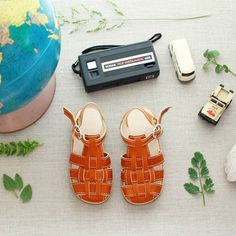 Leather baby/toddler sandals- handmade in Nicaragua  adelisaandco.com