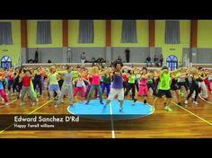 Happy Dance routine, Edward Sanchez D'RD Happy Farrell Williams - YouTube