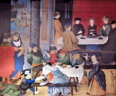 Bad & good manners (Valerius Maximus, Facta et dicta memorabilia, Bruges 1475)