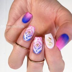 Tribal Festival Nails picture 1
