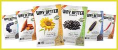 One of the cleanest snack foods around. Love em for the short ingredient list plus loads of fiber! @Way Better Snacks