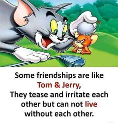 Friendship Quotes and Selection of Right Friends – Viral Gossip Best Friend Quotes Funny, Besties Quotes, Friend Jokes, Funny School Jokes, Crazy Funny Memes, Tom And Jerry Quotes, Tom And Jerry Cartoon, Real Friendship Quotes, Forever Quotes