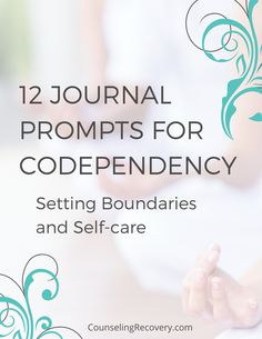 When you're codependent, you get your value from what you give but who you are has value! Get my step by step journal prompts to take better care of yourself and start healing codependent patterns! Relationships heal when we are willing to look at ourselves, and I can't help! #codependency #relationships #mentalhealth #addiction #recovery #boundaries