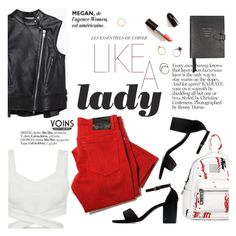 """Like a lady"" by punnky ❤ liked on Polyvore featuring Sacai Luck, Smythson and Iosselliani"