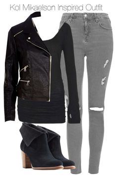 """""""Kol Mikaelson Inspired Outfit"""" by staystronng ❤ liked on Polyvore"""