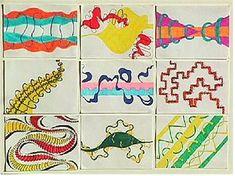 Creative Principles [Elements and Principles of Art] : Drawing Lessons for Kids: KinderArt ® Elements And Principles, Elements Of Art, Design Elements, Drawing Lessons For Kids, Art Lessons, Intro To Art, Art Rubric, Rubrics, High School Art Projects