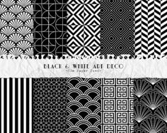 Art Deco Digital Paper Collection Volume II by ThePaperTown