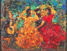 Andres De SantaMaria, Pintores| ColArte | Colombia.bailarinas.