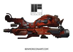 Speeder Concept by Ben Moriconi on ArtStation. Hover Car, Hover Bike, Spaceship Concept, Concept Cars, Sky Bike, Futuristic Cars, Futuristic Vehicles, Star Wars Spaceships, Sci Fi Weapons