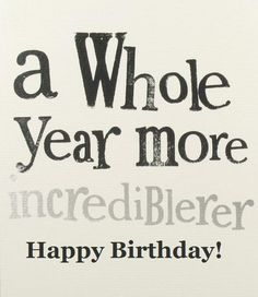 Happy birthday / anniversary to the new me tomorrow. One glorious, ecstatic year away from your miserable @$$.