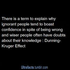 Dunning - Kruger Effect