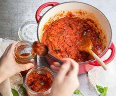 Domácí rajčatová omáčka   Recepty Albert