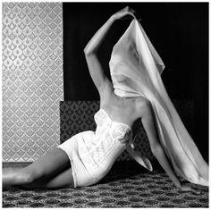 Horst P.Horst - Fashion Photography Gabriel 1965 lingerie advert
