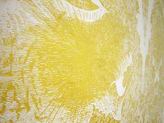 Brilliant Award-Winning Gold Leaf Painting by Richard Wright - My Modern Metropolis