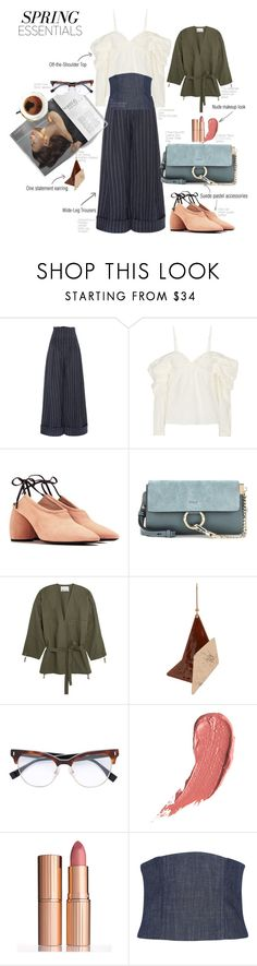 """""""Spring17 Trends"""" by statuslusso ❤ liked on Polyvore featuring Jacquemus, J.W. Anderson, Dries Van Noten, Chloé, T By Alexander Wang, STELLA McCARTNEY, Fendi, Charlotte Tilbury and TIBI"""