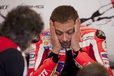 #MotoGp Indianapolis 2012: Valentino Rossi saluta la Ducati su #Twitter #socialnetwork