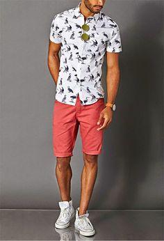Summer Casual Pink Shorts
