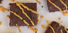 #paleo Pumpkin Swirl Brownies