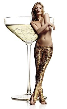 Kate Moss - champaign - gold; all the good is coming threeways :-)))