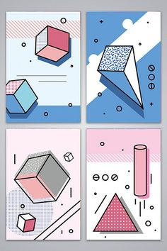 Memphis pattern vector flat advertising background#pikbest#backgrounds Banners Web, Web Banner Design, E Design, Book Design, Print Design, Minimal Graphic Design, Gratitude Journal Prompts, Logos Retro, Book Background