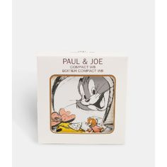 Paul & Joe Beaute Warner Brothers Compact Case: For autumn, Paul and Joe Beauty have teamed up with Warner Bros. to bring some of Sophie's favourite characters to her make-up line. We saw them adorn her dresses last season, and now they can also be a feature of your beauty collection.      Limited edition Compact Case 001 Tom tried to catch Jerry with the face powder case! All compact cases are compatible with Paul and Joe powder refills.