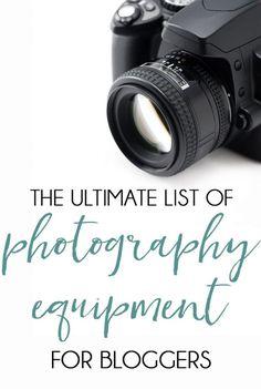 Photography Equipmen