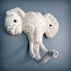 elephant wall hook, $16.00