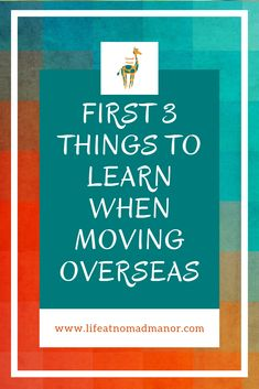 Heading overseas? It doesn't have to be overwhelming.