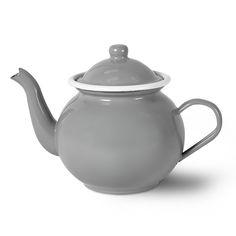 Discover the Garden Trading Enamel Teapot - Flint at Amara