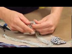Re-purpose old jewelry to make something fashionable and trendy with this Necklace Makeover Tutorial Video.