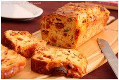 cake chorizo poivrons mozzarella (OK) Special Recipes, Beignets, Quiche, Banana Bread, Food To Make, Hamburger, Healthy Recipes, Snacks, Desserts