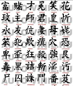 Anime Tattoos, Girl Tattoos, Tattoos For Guys, Tatoos, Christmas Desktop Wallpaper, Kanji Tattoo, Alphabet Symbols, Chinese Characters, Japanese Art