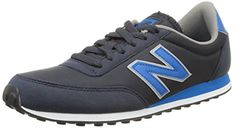 New Balance Mens U410cpa LowTop LaceUp Trainers Blue Size 44 >>> You can find more details by visiting the image link.