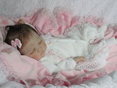 Sissy's Nursery Reborn OOAK Lifelike Baby Girl Cianne Romie Strydom
