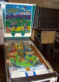 """1966 Kicker """"Chicago Coin"""" Pinball Machine"""