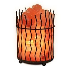 Himalayan Salt Lamp Home Depot Interesting Glowing Jesus Natural Himalayan Salt Lamp  Home Decor  Lighting