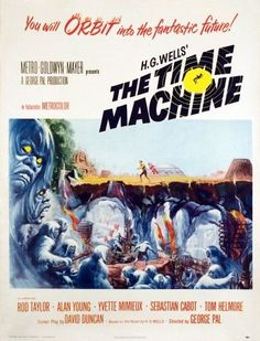 The Time Machine 1960. Movie Poster Masterprint (24 x 36)