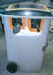 Fabriquer une cabine de sablage • mécanique moto
