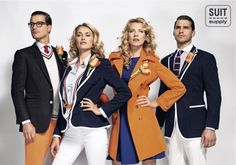 The Dutch 2012 Olympic team uniforms incorporate a vintage look while proudly displaying the traditional Dutch orange. Personally these are really nice!
