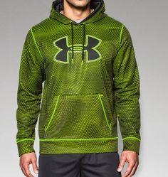 Men's UA Storm Armour® Fleece Big Logo Rattle Hoodie | Under Armour US