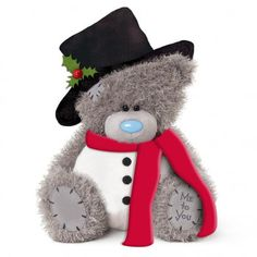 Me to You 10 Inch Plush Dressed as Snowman Bear